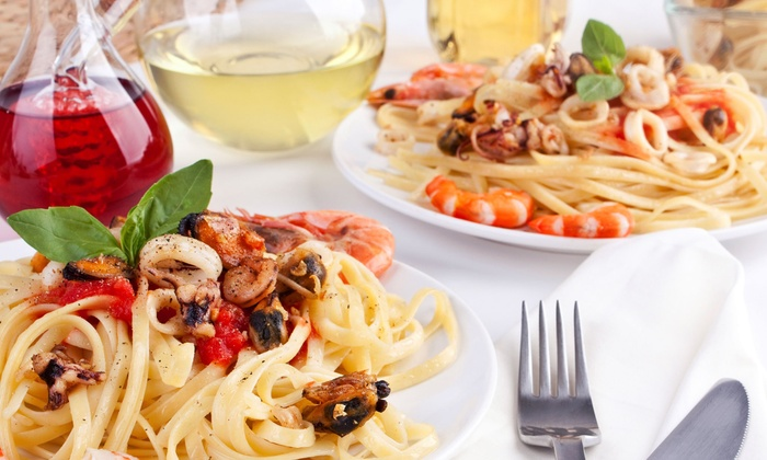 LaCucina Restaurant - Smithfield: Italian Food and Drinks for Lunch or Dinner at LaCucina Restaurant (48% Off). Three Options Available.
