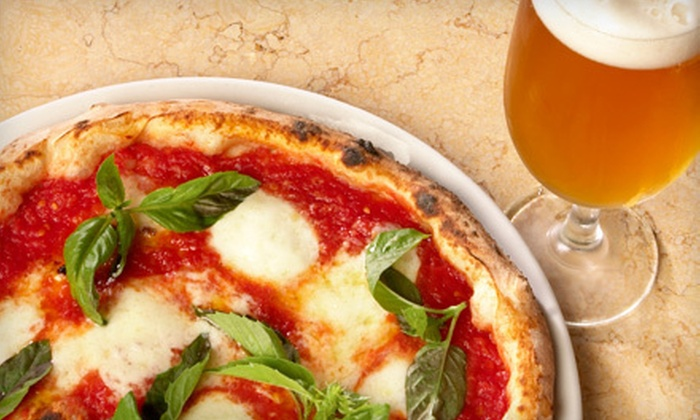 Brooklyn Central - Park Slope: $19 for Brunch with Starter, Pizza, and Drinks for Two at Brooklyn Central (Up to $44 Value)