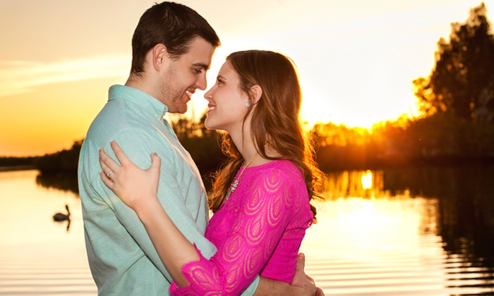 C. R Newman Photography - Tampa Bay Area: 60-Minute Engagement Photo Shoot at Up to Two On-site Locations from C. R Newman Photography (70% Off)