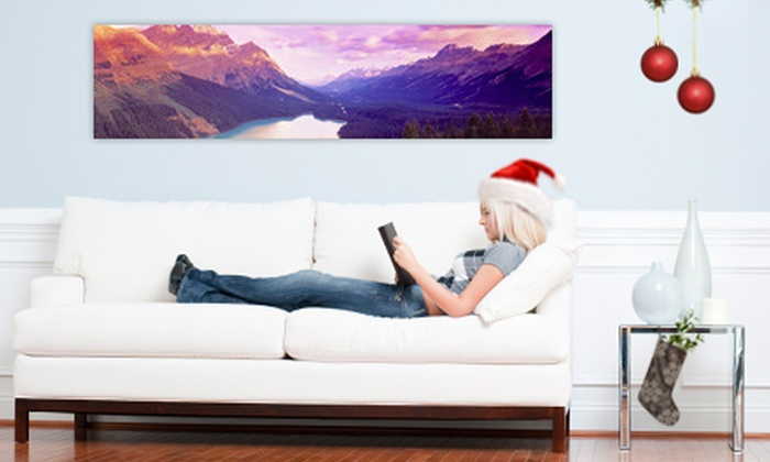 "Larger Than Life Prints: C$35 for a 48""x12"" Panoramic Wall Mural from Larger Than Life Prints (US$84 Value)"
