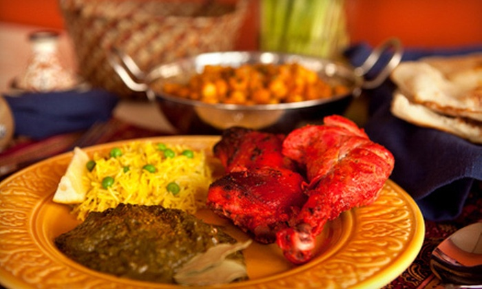 Taste of India - London, ON: Indian Fare and Drinks at New Taste of India (Up to 56% Off). Two Options Available.
