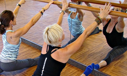 5 BarFitness Classes or One Month of Unlimited Classes at BarFitness Ballet Bar Studio (Up to 65% Off)