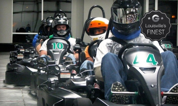 Bluegrass Indoor Karting - East Louisville: Two Races for One or Two at Bluegrass Indoor Karting (Up to 51% Off)