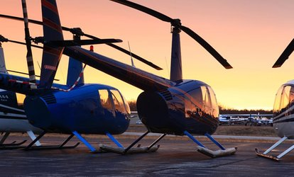 image for One or Three Private Flying Lessons with Ground School and Hands-On Flights from C-R Helicopters (Up to 47% Off)