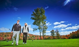 Shanty Creek - Cedar River + The Legend: Round of Golf with Cart at The Legend or Cedar River at Shanty Creek (45% Off)