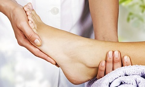Foot Doctor of the East Bay: Laser Toenail-Fungus Treatment for One Toe or One or Both Feet at Foot Doctor of the East Bay (75% Off)