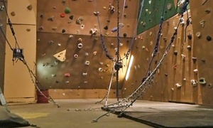 North Texas Outdoor Pursuit Center: One-Day or One-Month Rock-Climbing Pass for Two at North Texas Outdoor Pursuit Center (Up to 63% Off)