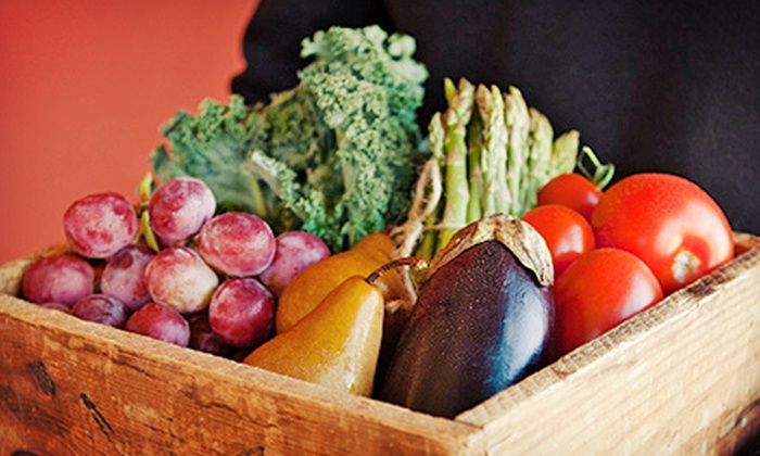Irv & Shelly's Fresh Picks: $18 for Box of Seasonal, Local Vegetables and Fruit with Delivery from Irv & Shelly's Fresh Picks ($36.50 Value)