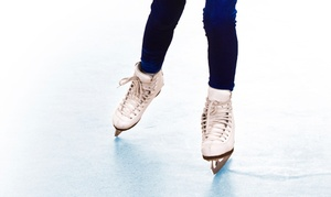 Mountain View Ice Arena: Open Skate for 2 or 4 or 9 Weeks of Skate Lessons at Mountain View Ice Arena (Up to 48% Off)