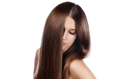 Haircut and Condition & Optional Highlight, or Straightening Treatment at Monolo Hair Studio (Up to 65% Off)