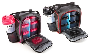 Jaxx Fuel Pack With Portion Container Set And Shaker Cup