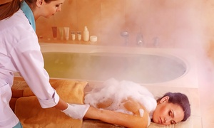Raed Hair &All: Moroccan or Turkish Steam-Bath Spa Package at Raed Hair & All (Up to 38% Off)