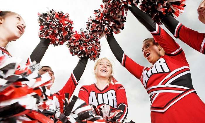 Hurricane Cheer Athletics - Greater Heights: $18 for $50 Groupon — Hurricane Cheer Athletics