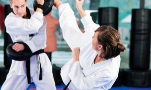 Lindamoods Martial Arts Center: 10 Ladies' BJJ Classes or 5 Preschool Karate Classes at Lindamood's Martial Arts Center (Up to 90% Off)
