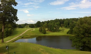 Heddles Hideaway Country Club: 2 or 4 Groupons, Each Good for a Round of Golf with Cart & Range Balls at Heddles Hideaway Country Club (56% Off)