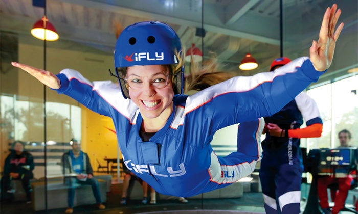 iFLY Hollywood - Universal City: $39 for 2 Indoor-Skydiving Flights for 1 Person with 2 Digital Photos at iFLY Hollywood ($74 Value)