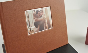Photobook Canada: 40-Page Personalized Debossed Hardcover Photobook with Window from C$9.99–C$26.99 from Photobook Canada