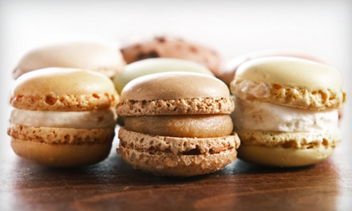 Simply French Cafe - Vancouver: Hands-On Macaroon-Making Class for One or Two at Simply French Cafe (Up to 55% Off)