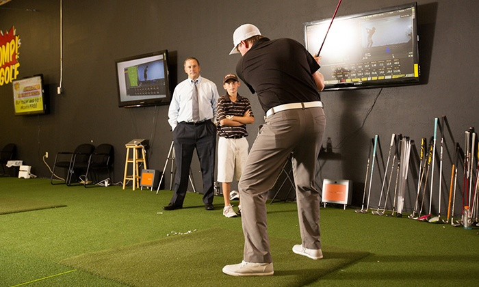 Stomp Golf Experience - North Scottsdale: 90-Minute TrackMan Swing Analysis with One-Month Tier 1 or Tier 2 Membership at Stomp Golf Experience (Up to 78% Off)