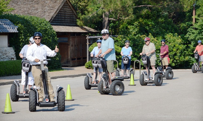 Segway Fort Worth - The River Ranch Stockyards Event Venue : 90-Minute Guided Segway Tour for One, Two, or Four from Segway Fort Worth (Up to 56% Off)