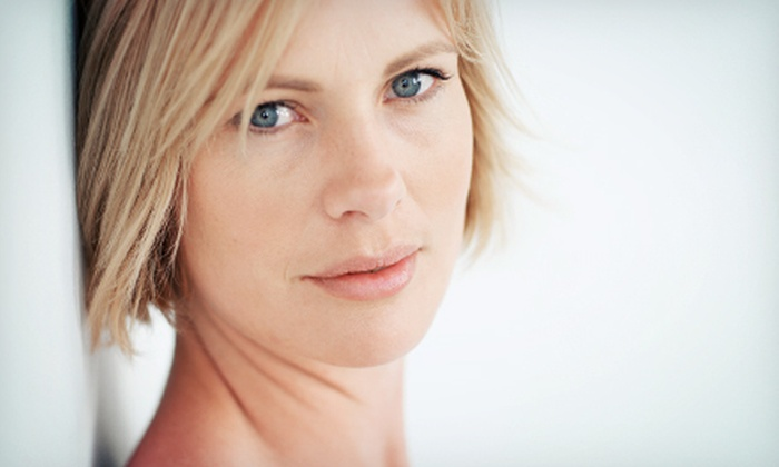 Aesthetic Facial Centre - Orchard Park: Nonsurgical Microcurrent Face-Lift with Optional Neck-Lift Treatment at Aesthetic Facial Centre (Up to 72% Off)