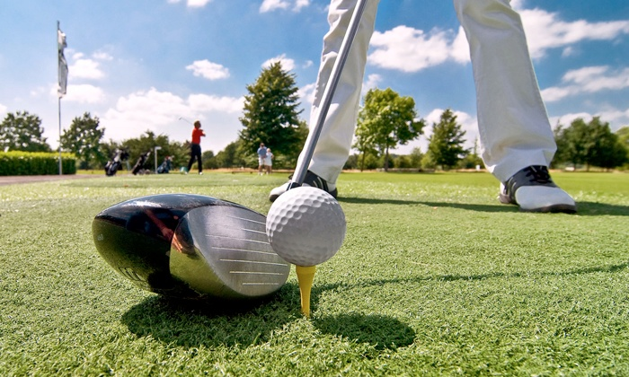 Garnant Golf Club - Garnant Golf Club: 18 Holes of Golf and Bacon Roll for One, Two or Four at Garnant Golf Club (up to 49% Off)