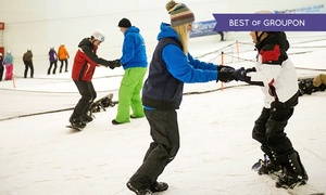Snow Factor - Glasgow: 90-minute Skiing or Snowboarding Lesson for One or Two at Snow Factor at Braehead (Up to 55% Off)