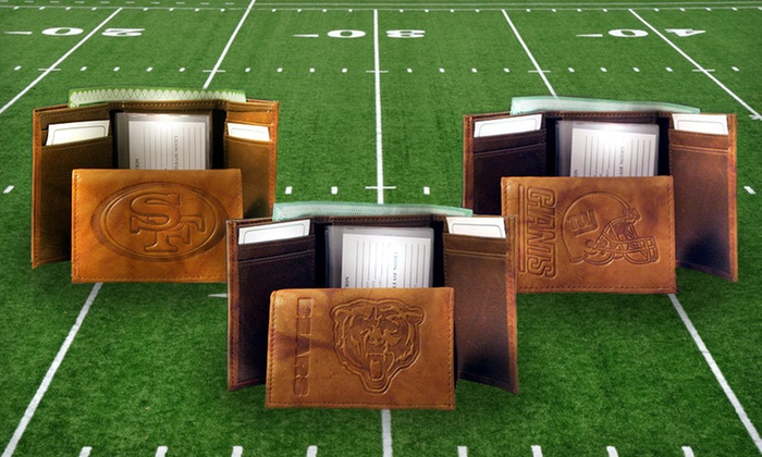 NFL Embossed Wallet: $19 for an NFL Embossed Wallet ($29.99 List Price). 32 Teams Available. Free Shipping and Free Returns