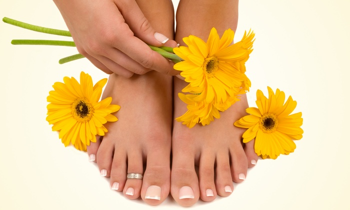 The Seven Club Health & Wellness Spa - East Central: One or Two Spa Mani-Pedis at The Seven Club (Up to Half Off)