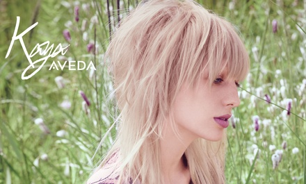 Haircut Package with Optional Condition or Gloss Treatment and Plant Peel at Kaya Aveda Salon Spa (Up to 61%Off)