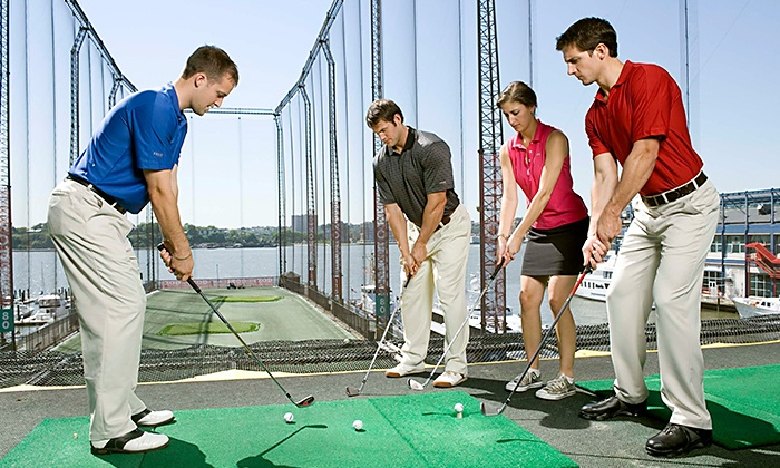 The Golf Club At Chelsea Piers - Chelsea Piers: Golf Class with Range Balls at Golf Club at Chelsea Piers (Up to 61% Off). Two Options Available.