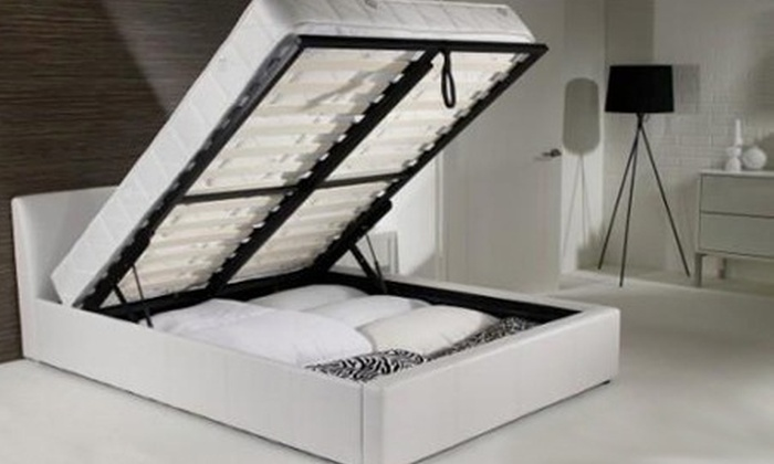 Ottoman Storage Bed Frame Groupon Goods