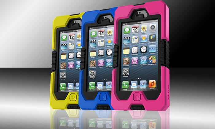 iHome Armo Rugged Case for iPhone 5: iHome Armo Rugged Case for iPhone 5. Multiple Colors Available. Free Shipping and Returns.