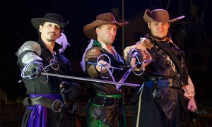 "The Three Musketeers: Dinner Show Admission for One to ""The Three Musketeers: Voyage Home"" (Up to 71% Off). Two Options Available."