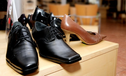 $25 for $50 or $49 for $100 Worth of Footwear at The Shoe Buckle