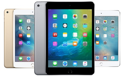 Apple iPad Mini 4 16GB or 64GB Wi-Fi in from £289.99 With Free Delivery