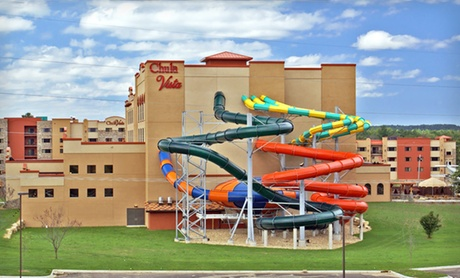 Massive Water Park at Wisconsin Dells Resort