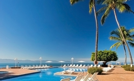 groupon daily deal - 3-, 4-, 5-, or 7-Night All-Inclusive Stay for Two at Vamar Vallarta in Puerto Vallarta, Mexico. Includes Taxes and Fees.
