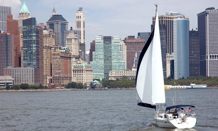 Sail the Hudson - Jersey City: Two-Hour Scenic Day Sail for One or Two from Sail the Hudson (Up to 55% Off)