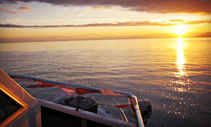 Accent Cruises - Fairview: Sunset Dinner Cruise or Carol Cruise for One or Two from Accent Cruises (Up to 60% Off)