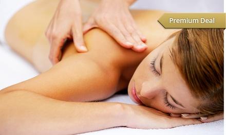 1x oder 2x Dorn-Breuss-Massage, optional inkl. Therapie mit Schöndorfstrom bei Heilpraktikerin Susanne Thieme ab 29,90 €