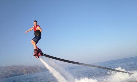 Vuelo en flyboard para 1 persona durante 20 minutos por 39,95 € en Flyboard Castell de Ferro