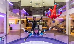 Airspace Indoor Skydiving: Simulateur de chute libre : 2 min. de vol avec vidéo et photo à 59,99 € avec Airspace Indoor Skydiving