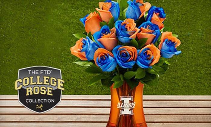 FTD: Flowers and Gifts Including FTD College Rose Collection from FTD (Up to Half Off)