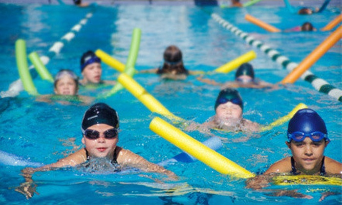 Six Point Aquatics - Near West Side: Five 30-Minute Kids' Group or Private Lessons Whitney Young Aquatics (Up to 68% Off)
