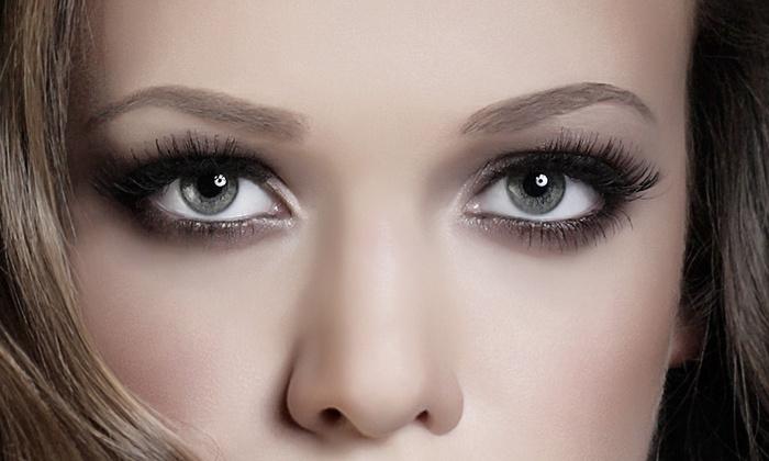 Hair And Lashes By Shawnta - Richardson: Full Set of Eyelash Extensions at Hair and lashes by Shawnta (35% Off)