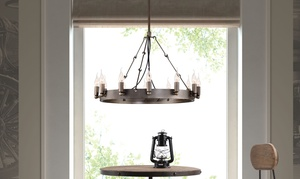 Limestone Collection 12-bulb Ceiling Lamp