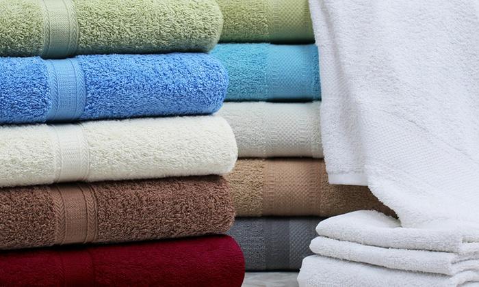 Fiona 4-Piece 100% Ringspun Cotton Towel Set: Fiona 4-Piece 100% Ringspun Cotton Towel Set. Multiple Colors Available. Free Returns.