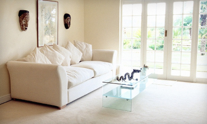 Absolute Carpet & Upholstery Care - San Buenaventura (Ventura): Three Rooms of Carpet Cleaning, or Upholstery Cleaning from Absolute Carpet & Upholstery Care (Up to 63% Off)