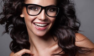 Epic Vision Eye Centers: Prescription Lenses and Frames or Eye Exam and Glasses at Epic Vision Eye Centers (Up to 76% Off)